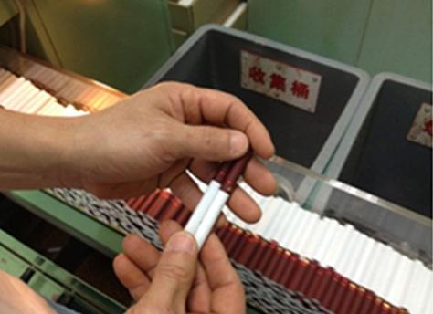 【维视智造】香烟过滤嘴纠偏解决方案