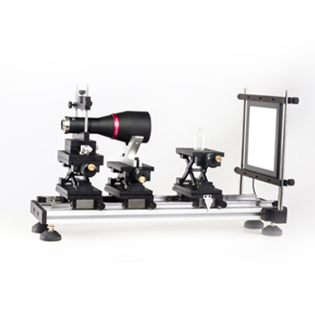 双远心光学测试台架