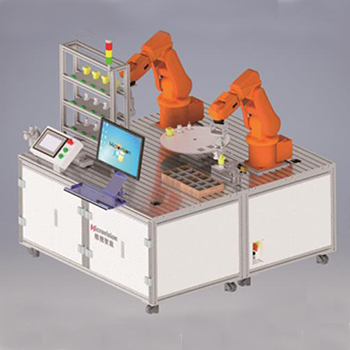 MV-DRWP300双机器人协作工作站实验平台