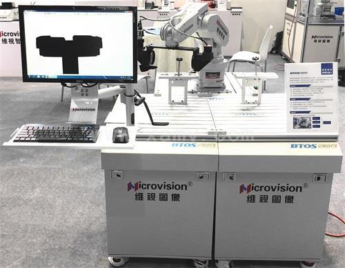 精密移动测量机器人