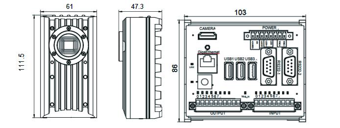 VisionBank ISC系列智能视觉相机