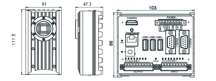 VisionBank ISC系列智能視覺相机