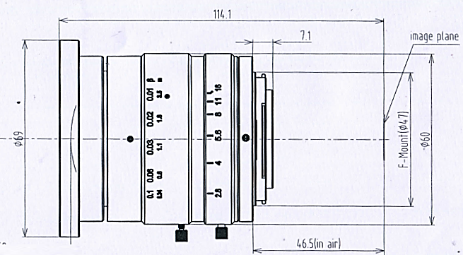 BT-45F3528MP10工业镜头