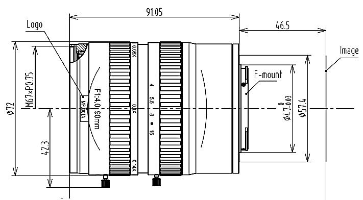 BT-66F11640MP29工业镜头