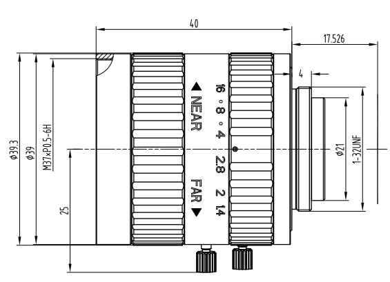 BT-23C0814MP5工业镜头