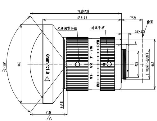 BT-23C0828MP10工业镜头