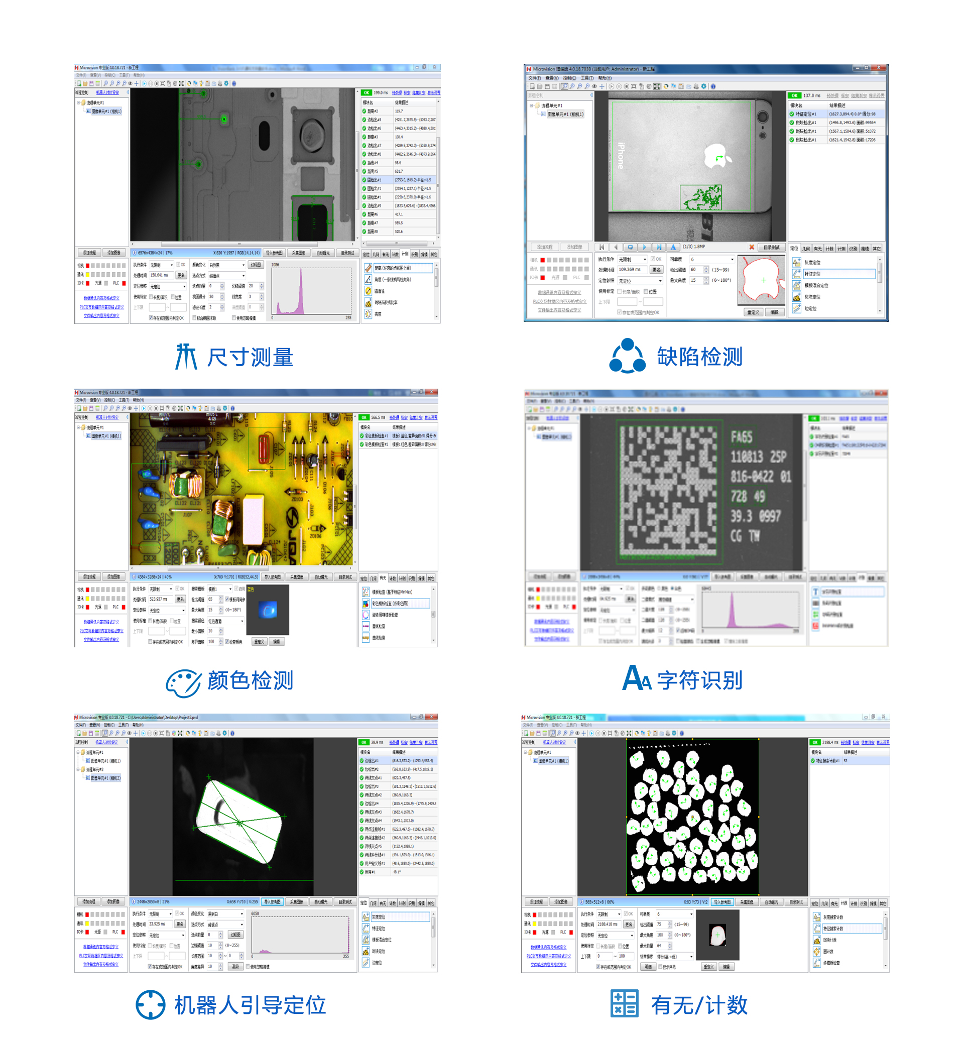 智能视觉软件应用案例