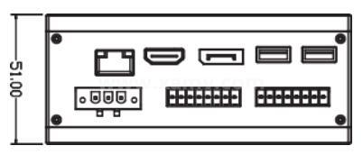 SVC 300 基础型 嵌入式智能视觉系统外形尺寸