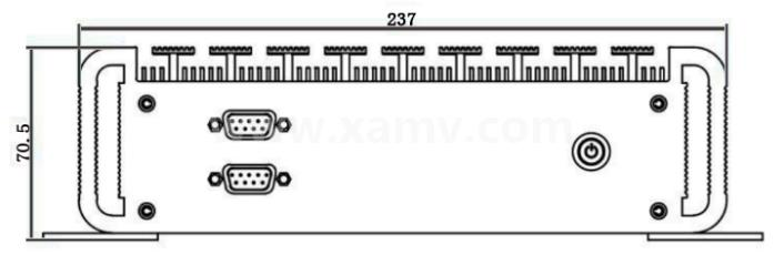 SVC400标准型嵌入式智能视觉系统尺寸图