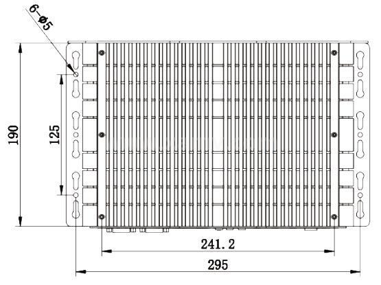 SVC600深度学习型嵌入式智能视觉系统外形图