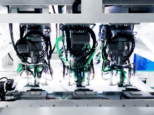 光伏接线盒自动焊接机