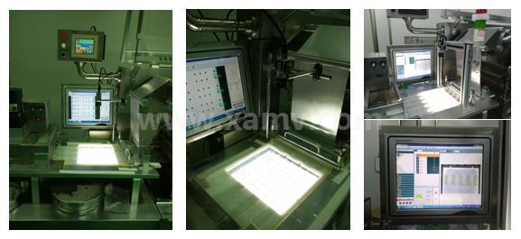 泡罩包装机机器视觉检测药丸、胶囊